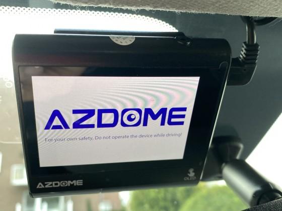 Andere Dashcam in Verwendung